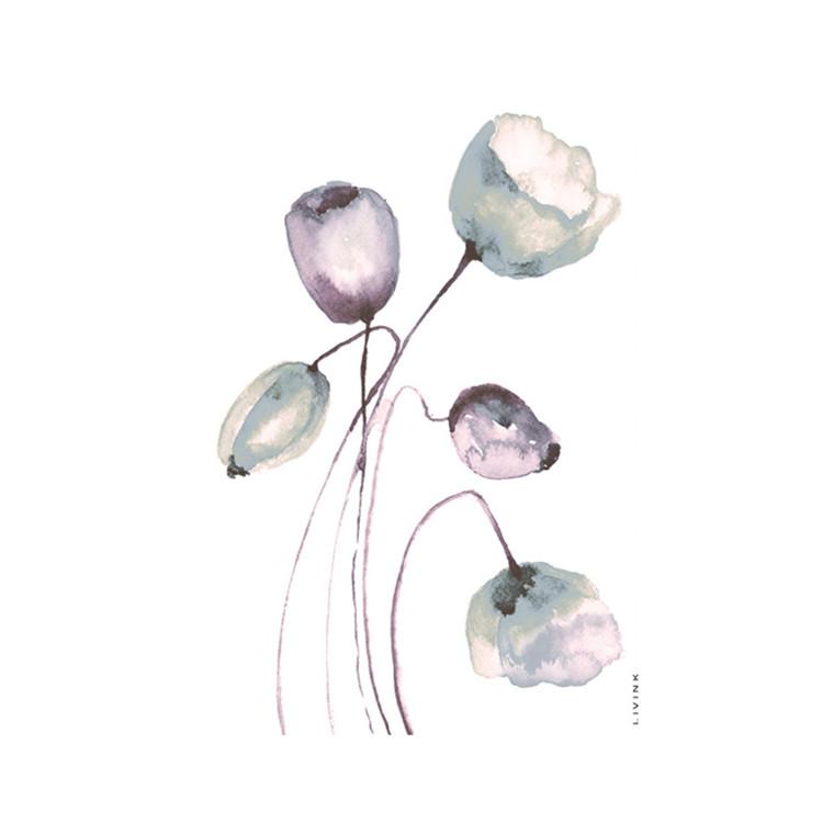 Livink Wild Flower Mix Postkort
