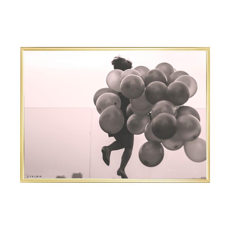 Livink Balloongirl Plakat