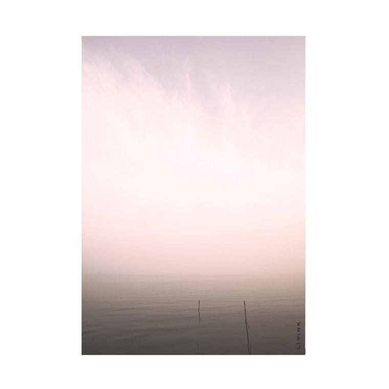 Livink Purple Silence Postkort