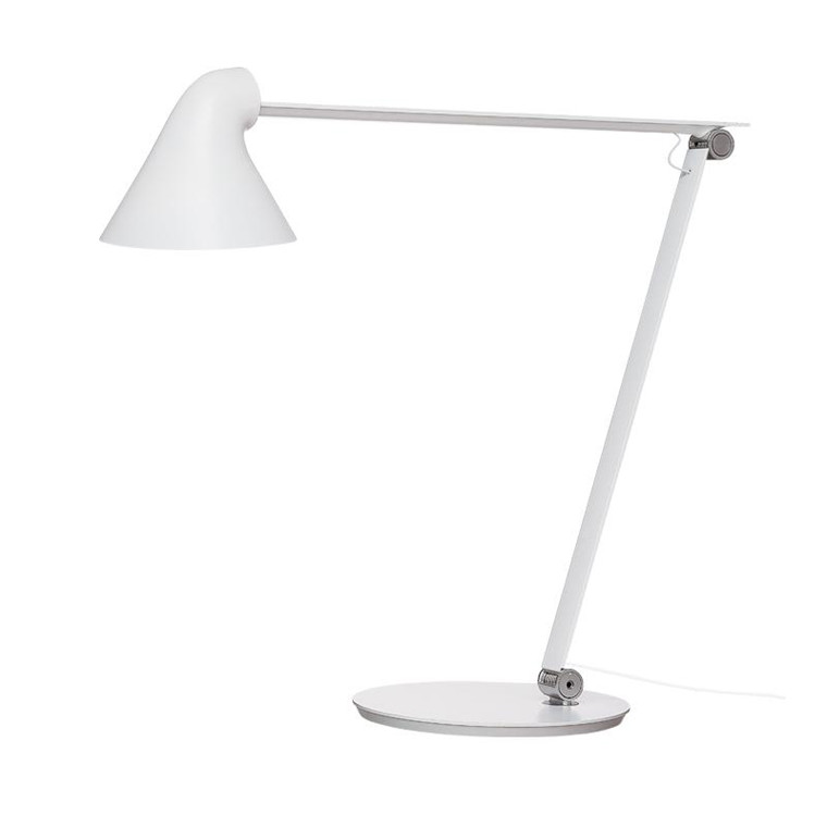 Louis Poulsen NJP Bordlampe Hvid