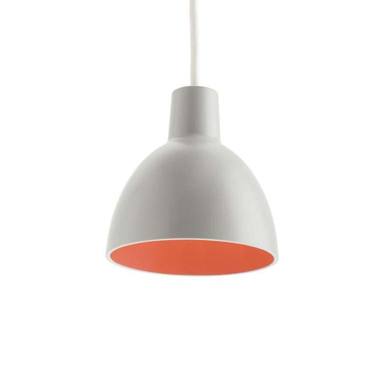 Louis Poulsen Toldbod 120 Light Grey/Coral Udstillingsmodel