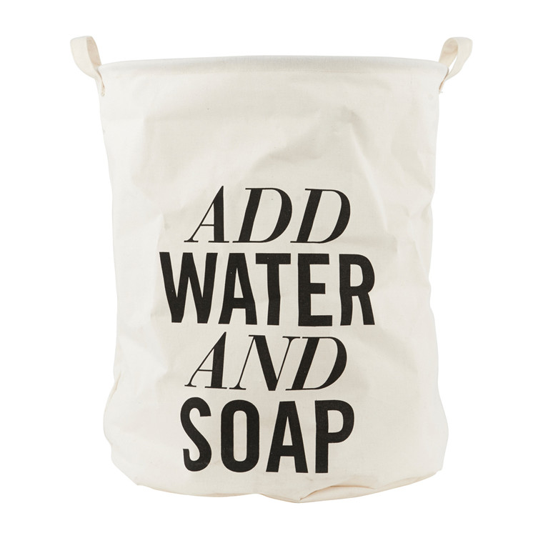 House Doctor Add Water & Soap Vasketøjspose