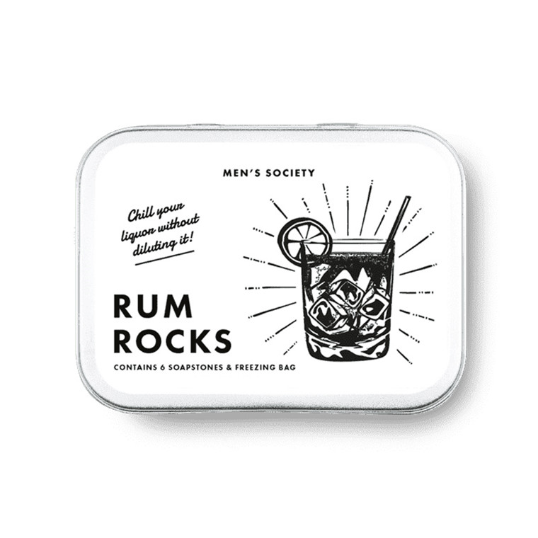 Men's Society Rum Rocks Cooling Stones
