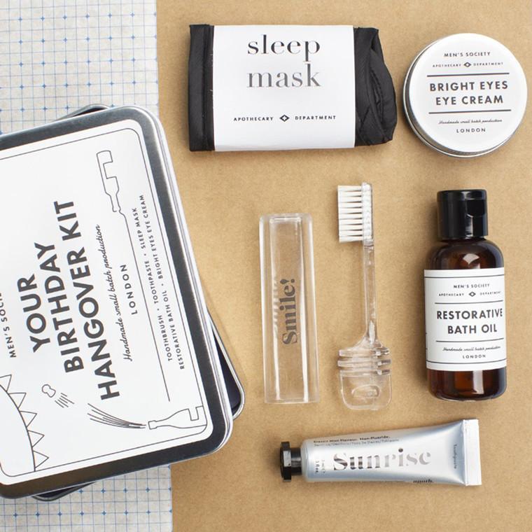 Men's Society Your Birthday Hangover Kit