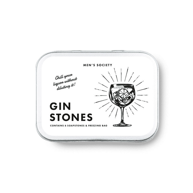 Men's Society Gin Cooling Stones