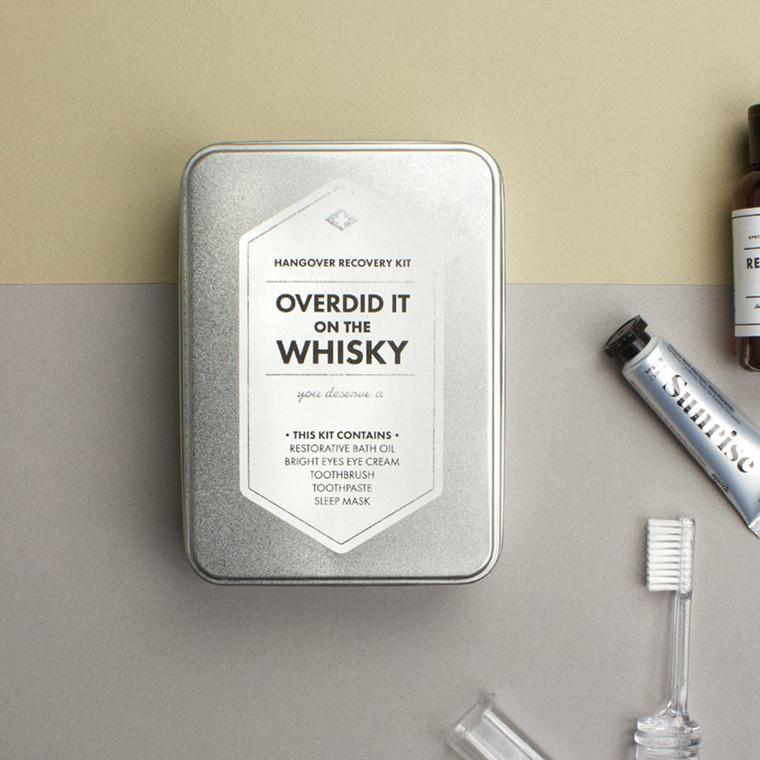 Men's Society Overdid It On The Whisky Kit