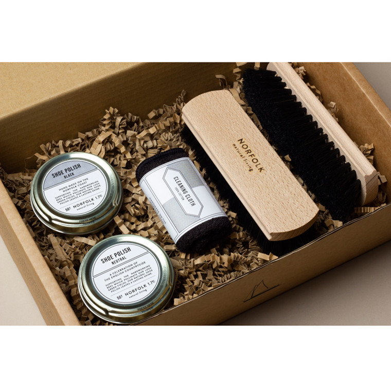 Men's Society Leather Shoe Cleaning Kit