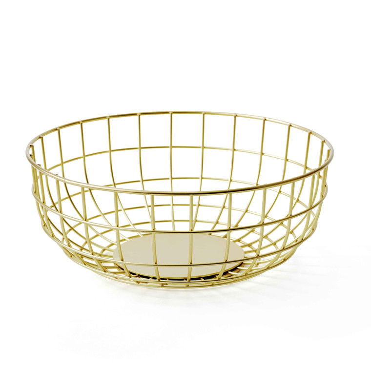 Menu Norm Wire Bowl Brass