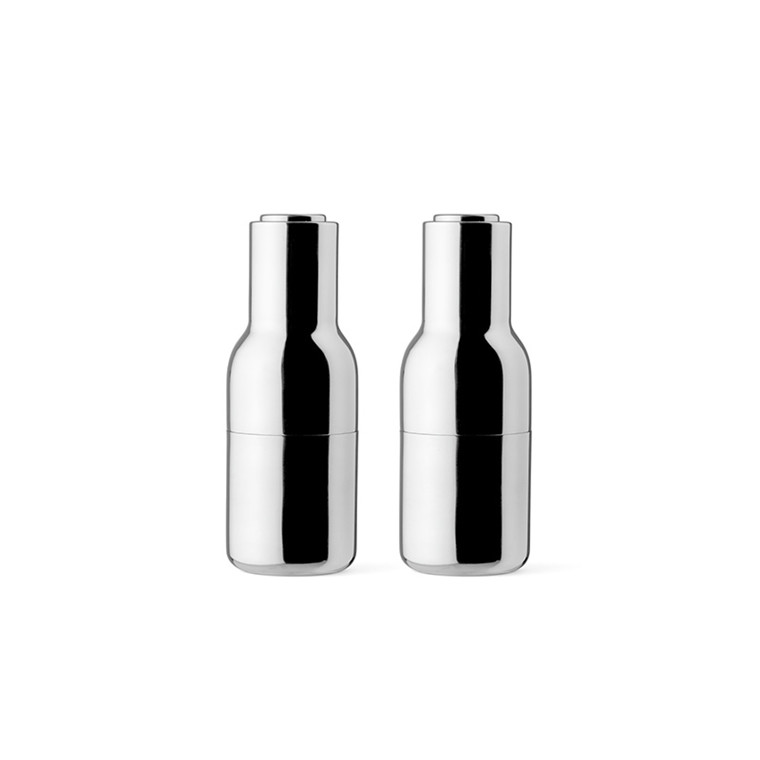 Menu Bottle Grinder Mirror Polished