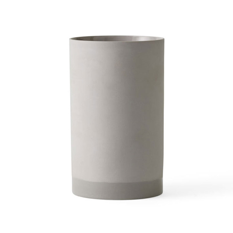 Menu Cylindrical Vase Ash Large