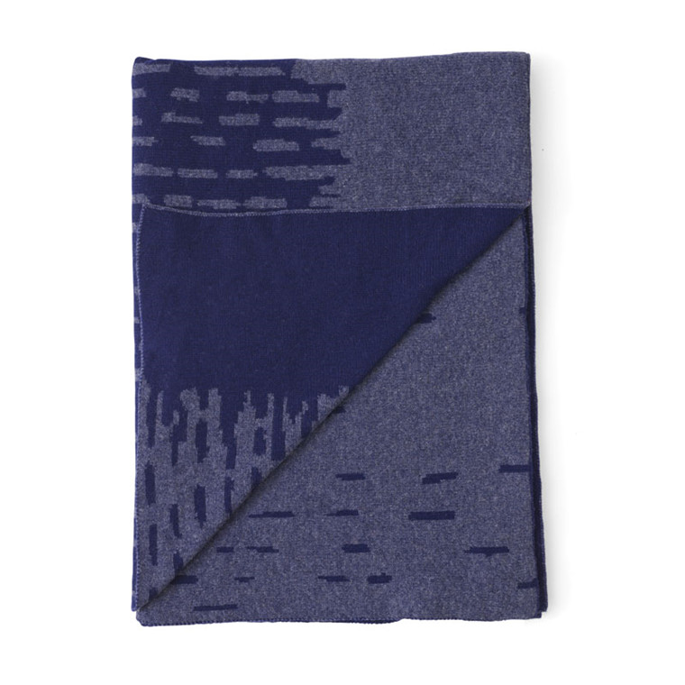 Menu Rain Blanket Blå