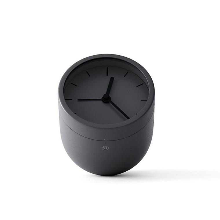 Menu Tumbler Alarm Clock Carbon