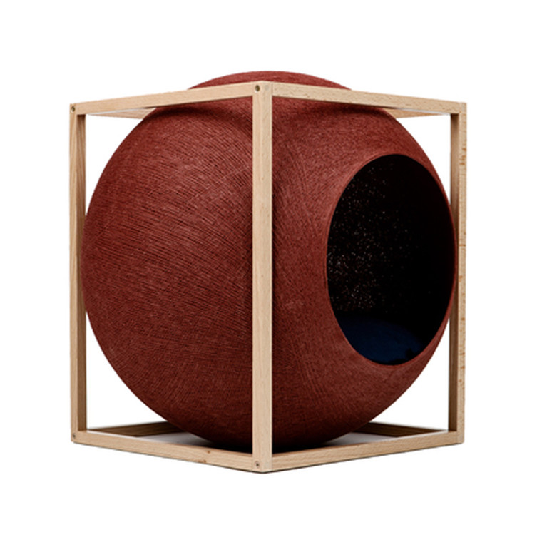 Meyou Paris The Cube Clay Wood Edition Kattekurv