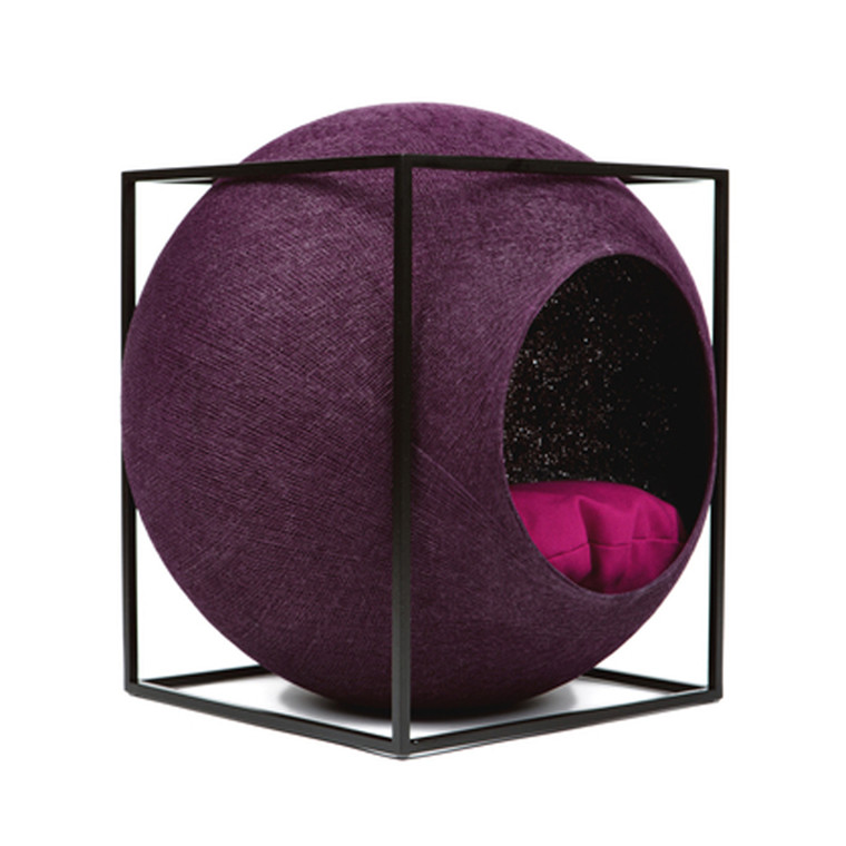 Meyou Paris The Cube Plum Kattekurv