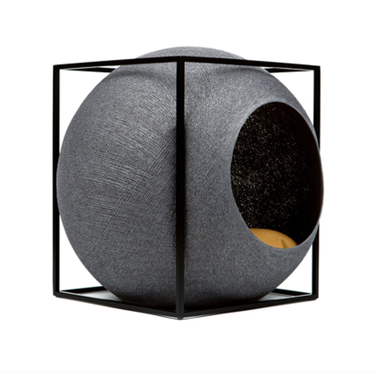 Meyou The Cube Dark Grey Kattekurv