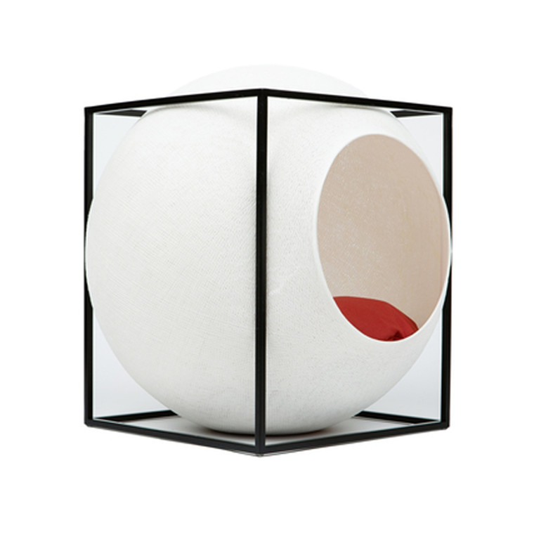 Meyou Paris The Cube Ivory Kattekurv