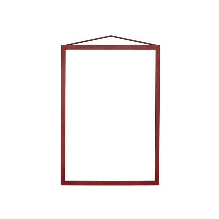 Moebe Deep Red Frame A4