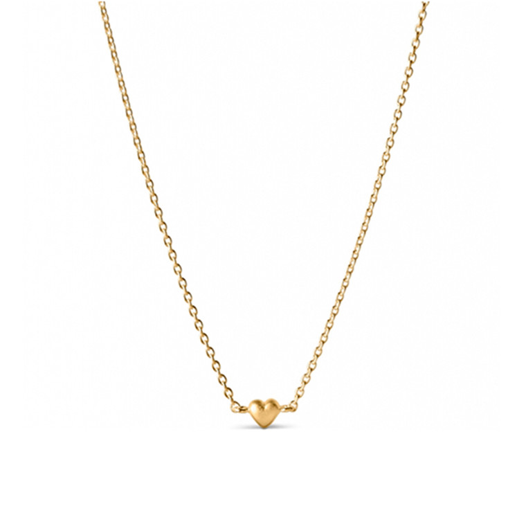 Enamel Copenhagen Little Love Necklace Gold-Plated