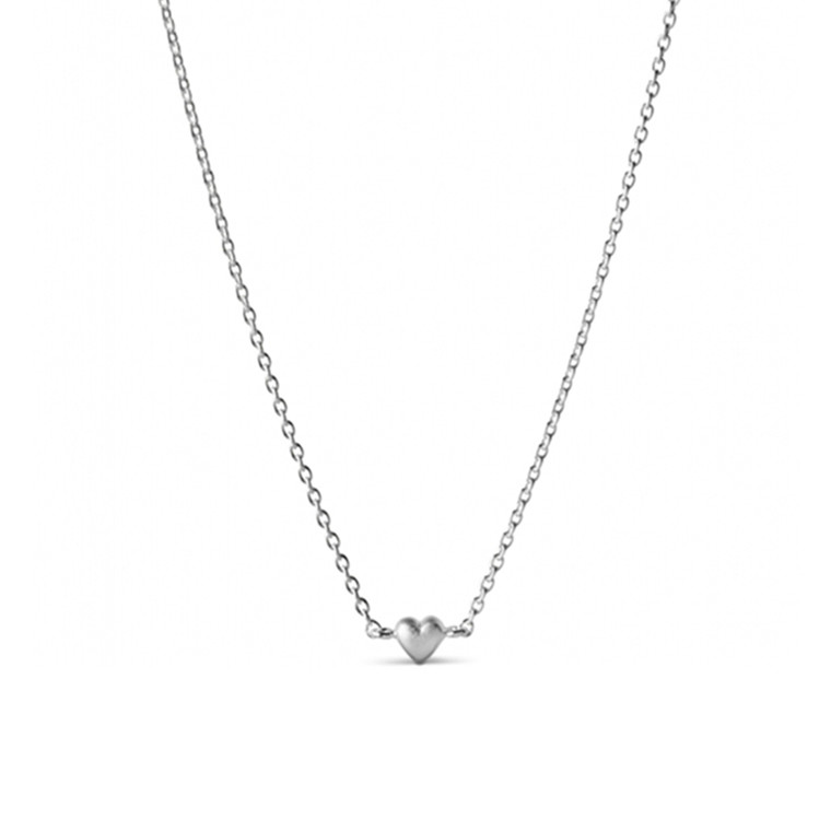 Enamel Copenhagen Little Love Necklace Silver