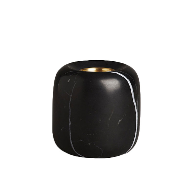 New Works Balance Candleholder Black