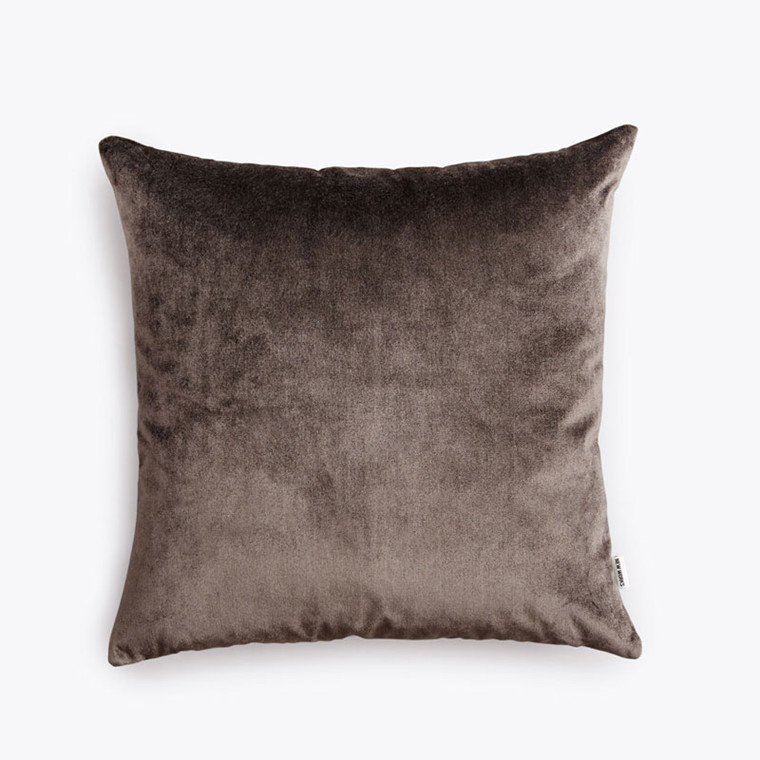 New Works Velvet Cushion Grå