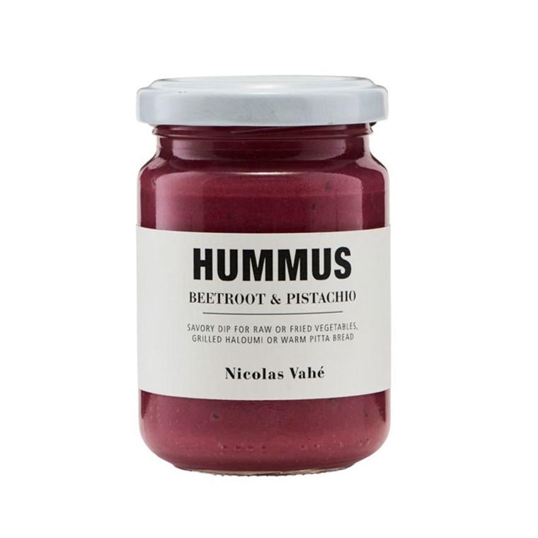 Nicolas Vahé Rødbede & Pistacienødder Hummus