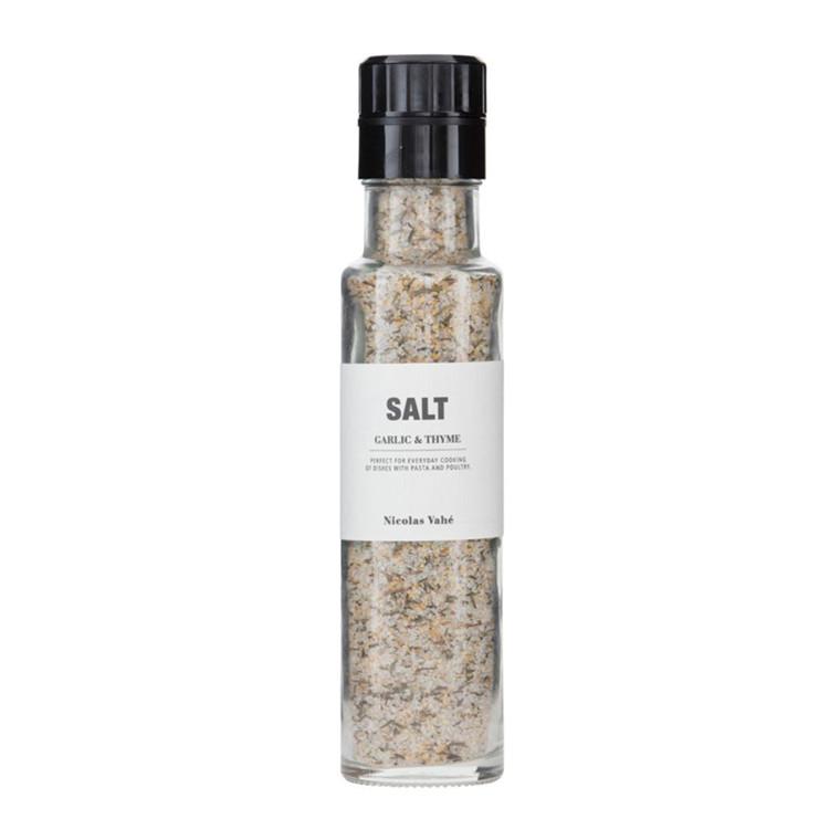 Nicolas Vahé Salt med Hvidløg & Timian