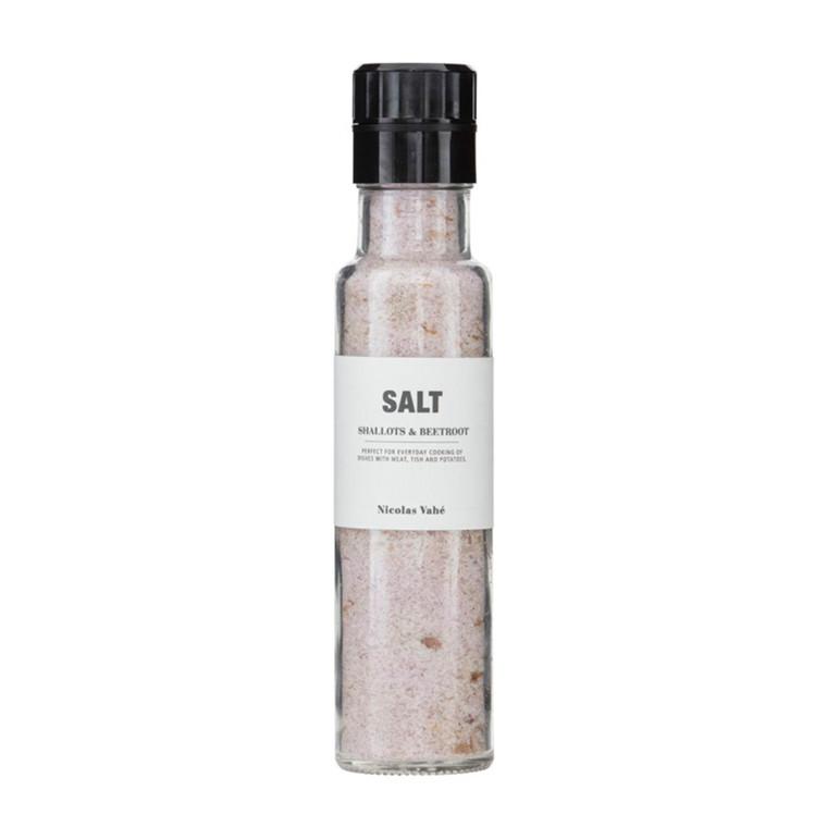 Nicolas Vahé Salt med Skalotteløg & Rødbede