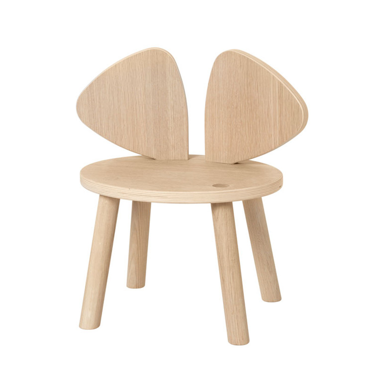 Nofred Mouse Chair 2-5 Years Oak