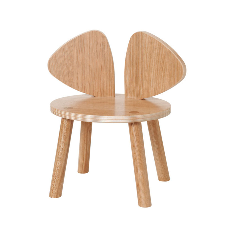 Nofred Mouse Chair 2-5 Years Lacquered Oak