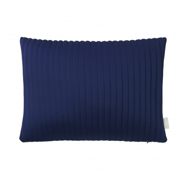 Nomess Linear Memory Pillow Rectangular Blue
