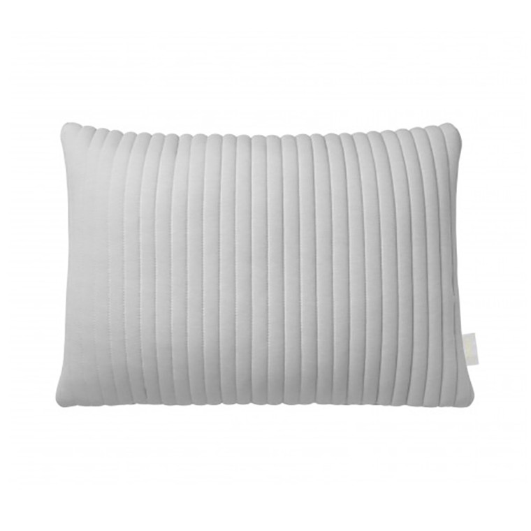 Nomess Linear Memory Pillow Rectangular Grey