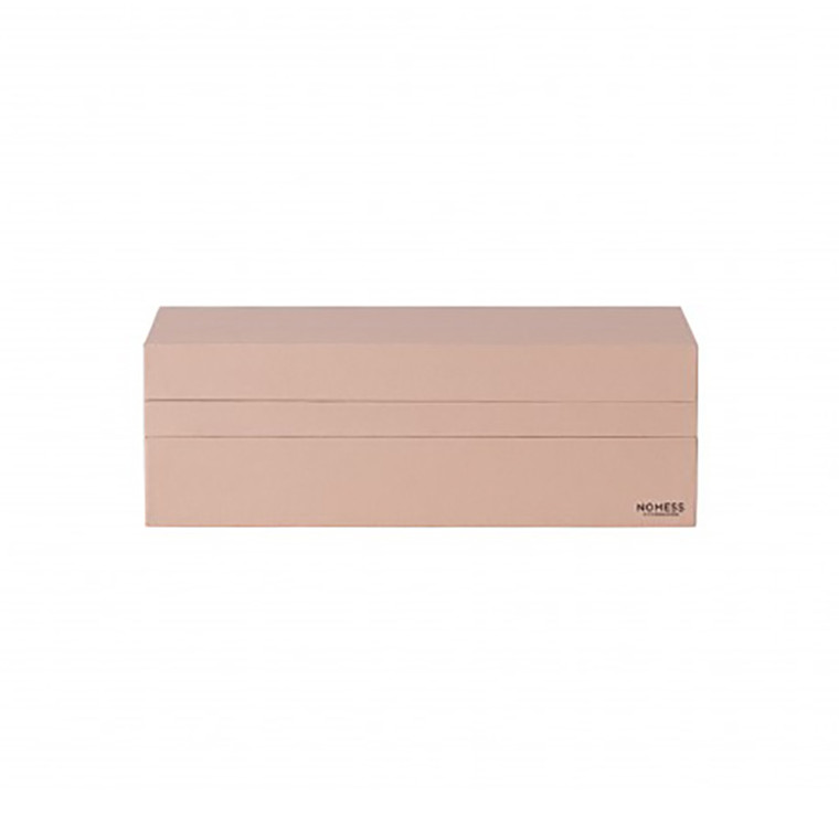 Nomess Rectangular Tray Box Nude