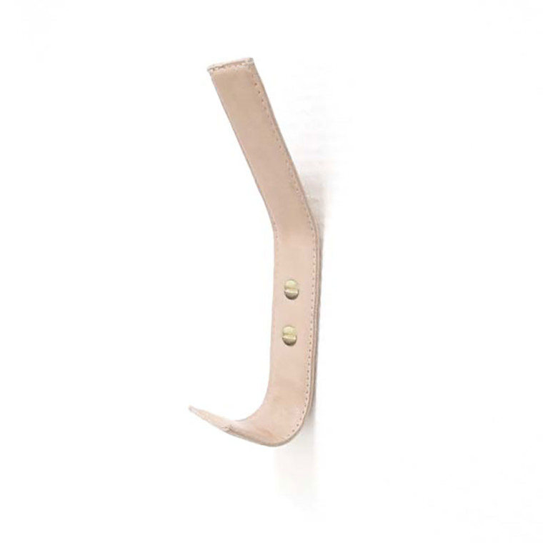 Nordic Function Leather Hat Hook Natural