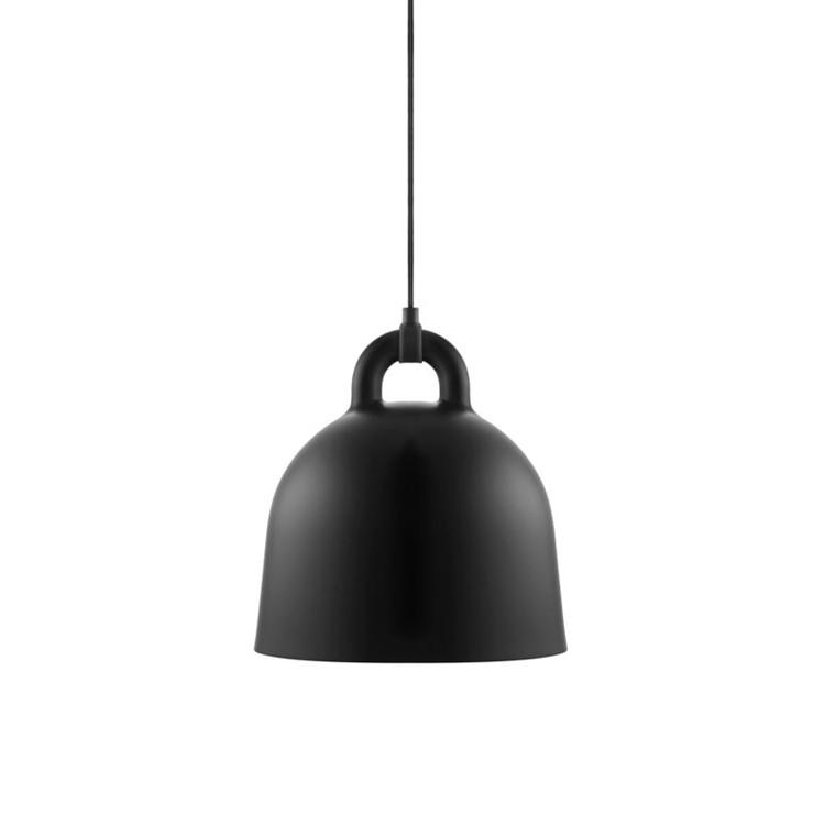 Normann Cph Bell Lamp Black