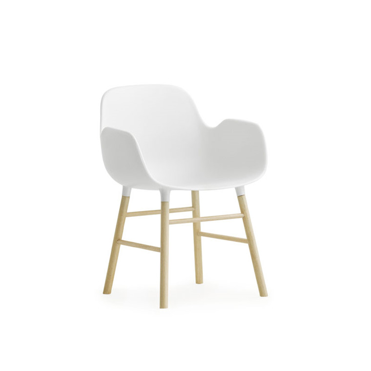Normann Cph Form Chair Miniature Hvid