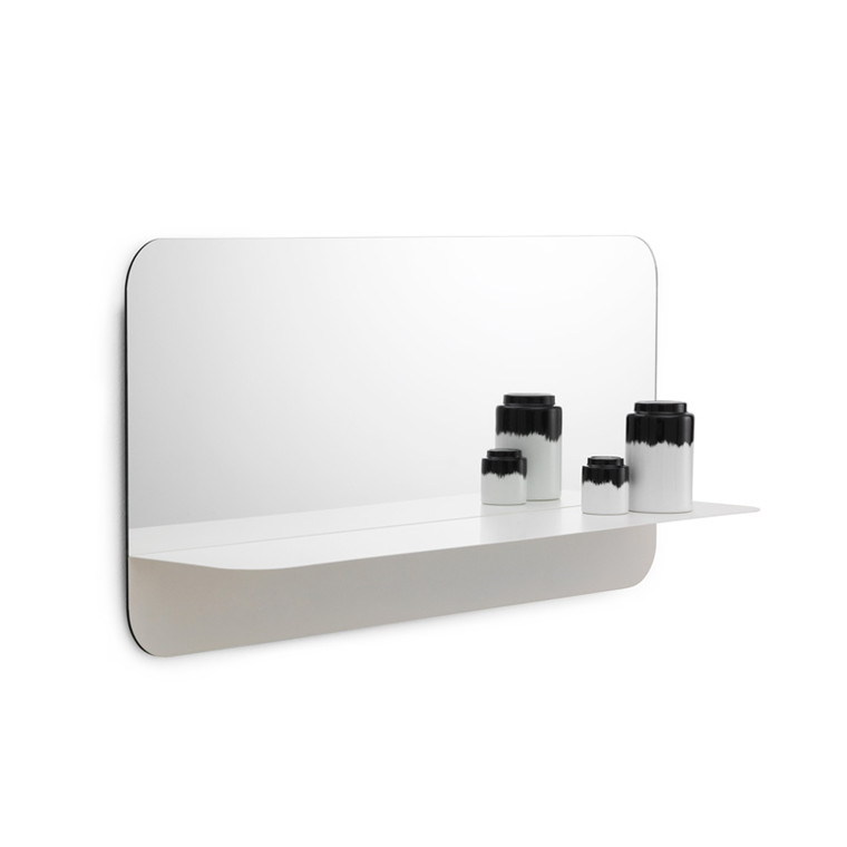 Nomann Cph Horizon Mirror Horizontal White