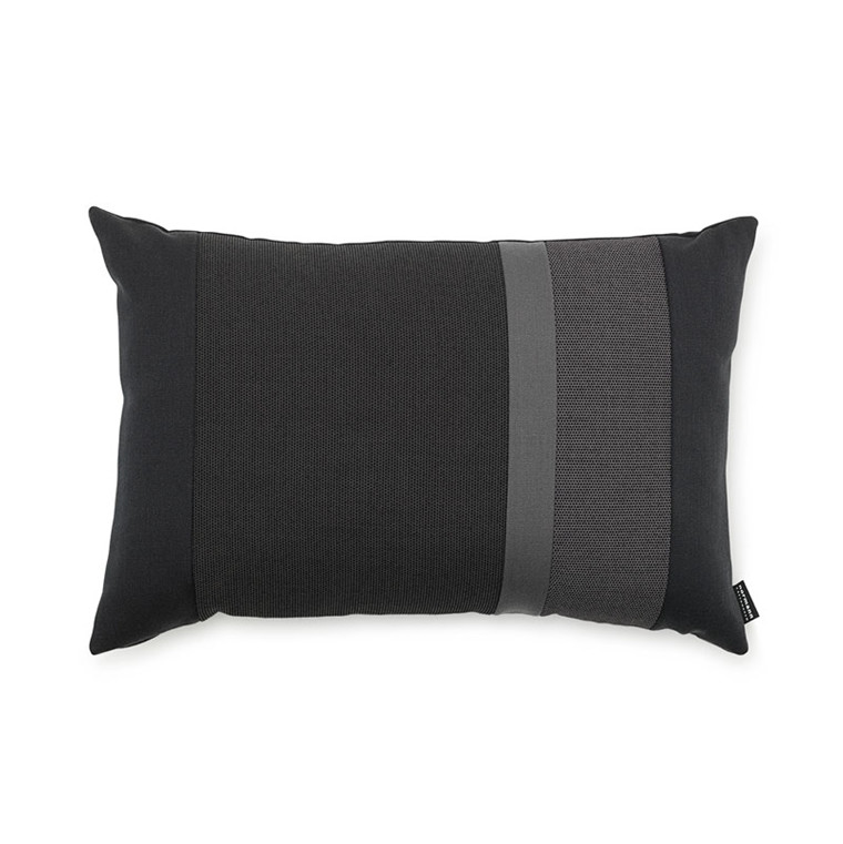 Normann Cph Line Cushion Dark Grey 40 x 60