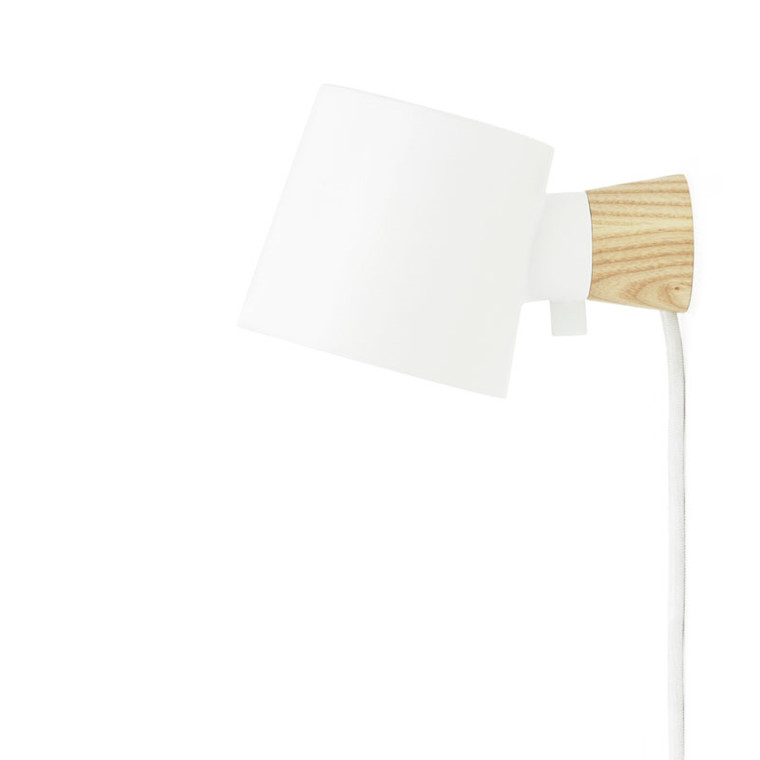 Normann Cph Rise Wall Lamp White