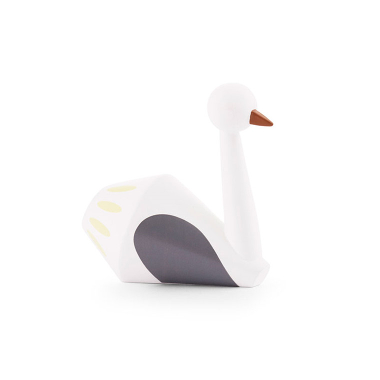 Normann Cph Tivoli Tale Figurines Swan White Small