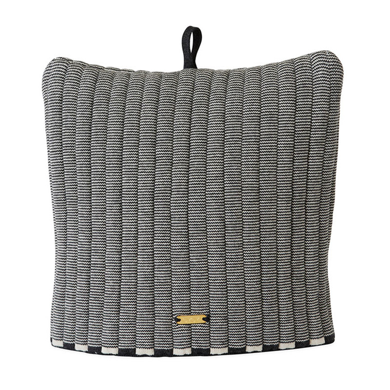 OYOY Stringa Tea Cozy Anthracite/Offwhite