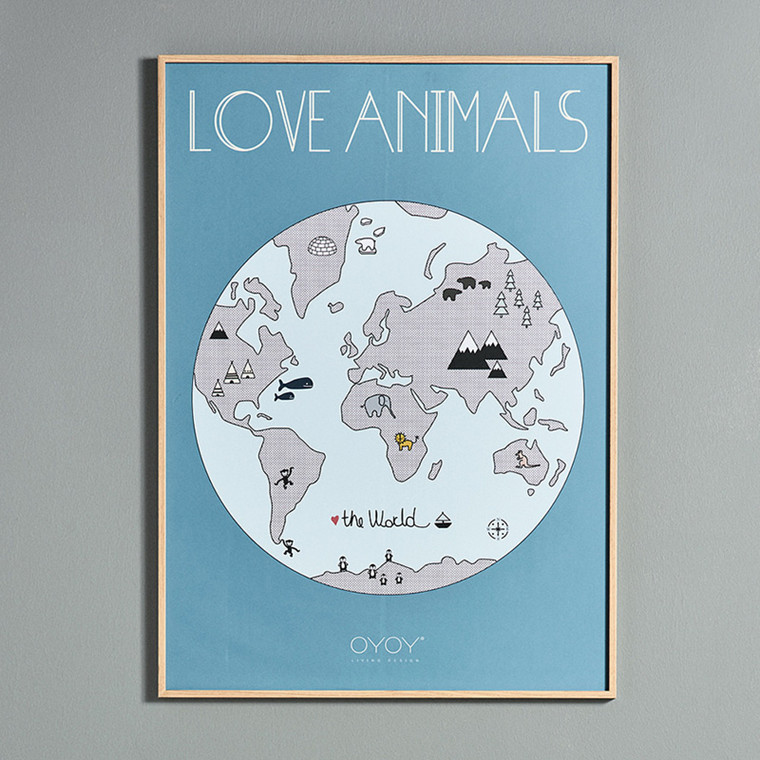 OYOY The World Poster