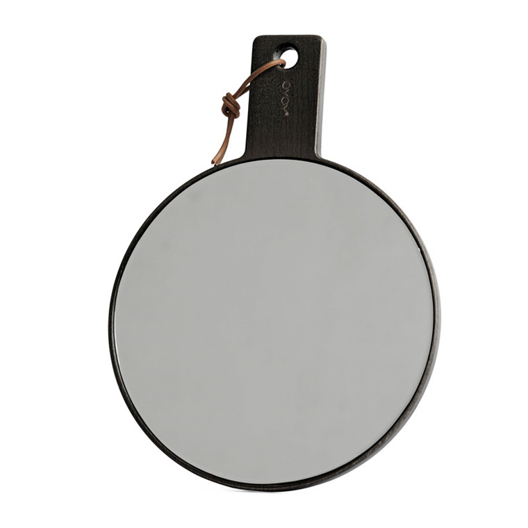 OYOY Ping Pong Mirror Dark Stained