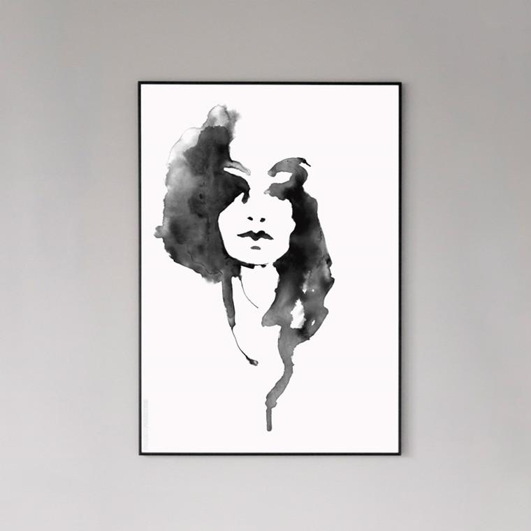 Paradisco Productions Lady Lovely Plakat Indrammet 50 x 70 cm