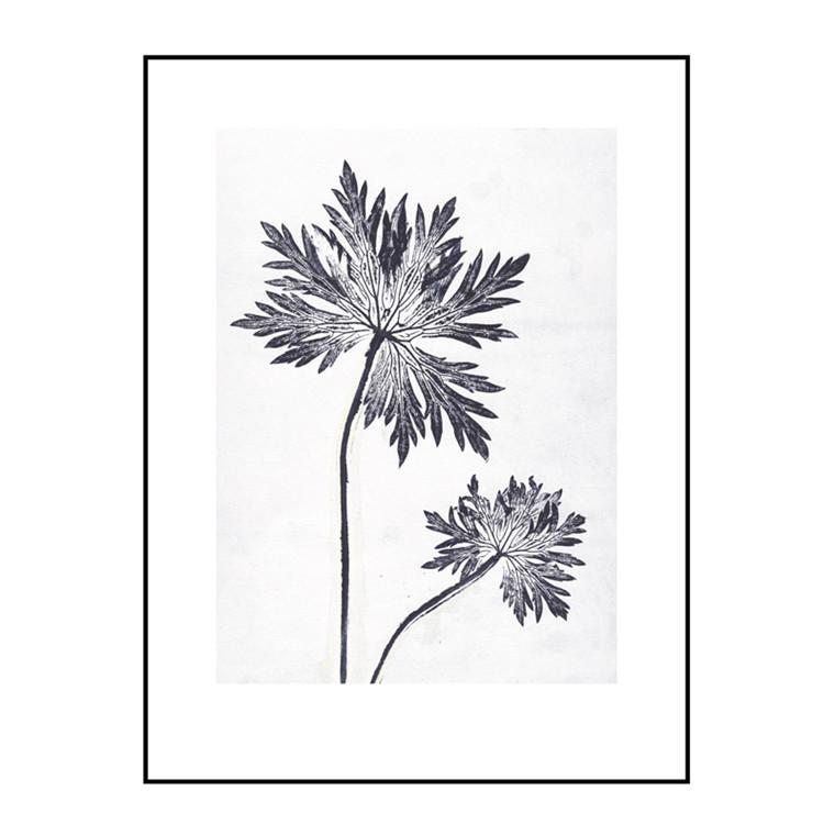 Pernille Folcarelli Geranium 1 Bluegrey Billede