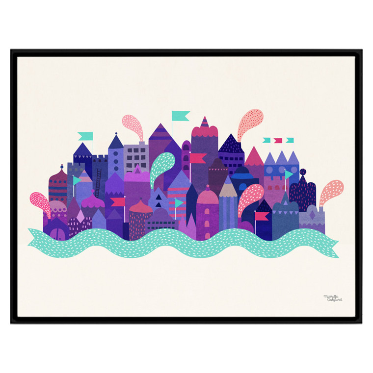 Michelle Carlslund Purple City