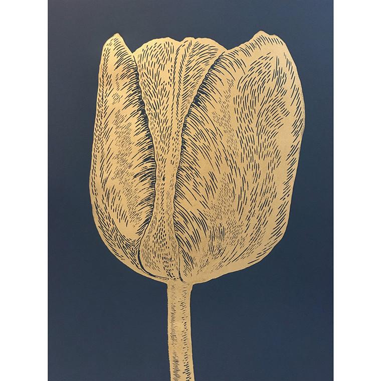 Monika Petersen Tulip Gold/Indigo