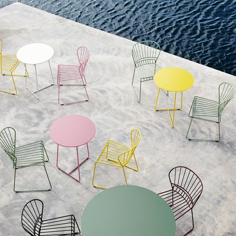 Skargaarden Resö Chair Charcoal Grey