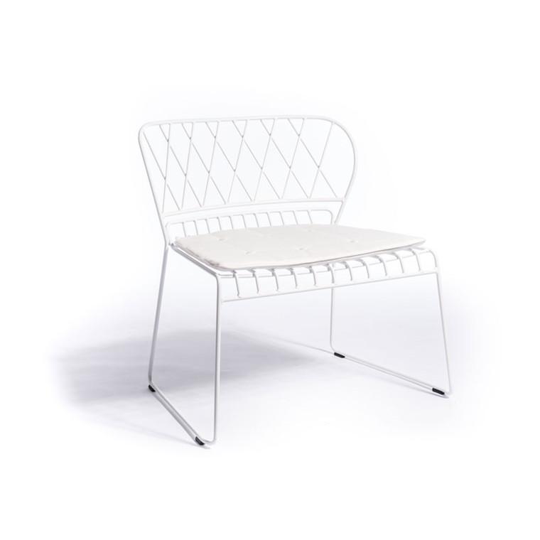 Skargaarden Resö Lounge Chair White