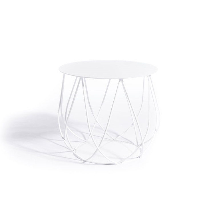 Skargaarden Resö Lounge Table Crossed Bars White